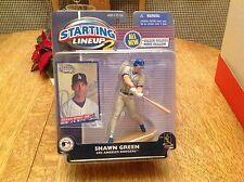 2001 Shawn Green Los Angeles Dodgers Kenner Starting Lineup 2 MLB SLU Baseball