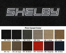 Lloyd Mats Dodge Shelby Logo Velourtex Front Floor Mats (1983-1993)