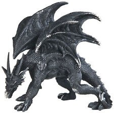 "STALK in BLACK   Black Dragon  Statue figurine  H5.25"""
