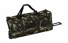 Luggage 40 Inch Rolling Duffle Bag, Camouflage, X-Large
