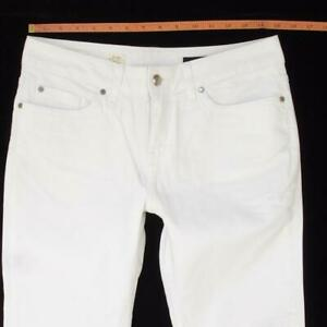 NEW Womens Tommy Hilfiger ROME Stretch Straight White Jeans W29 L32 Size 10 BNWT