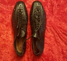 Cinelli NOS cycling shoes vintage leather with cleats! EROICA Size 7 women's