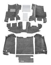 7-Piece BedRug Complete Front and Rear Carpet Kit for 1997-2006 Jeep Wrangler TJ