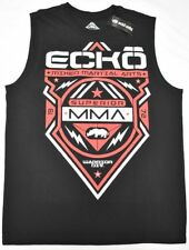 Ecko Unltd T-Shirt Men's Size L MMA Sleeveless Graphic Tee Tank Top Black N980