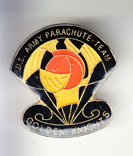 RARE PINS PIN'S .. ARMEE ARMY PARACHUTE PARACHUTISTE USA MOTO GOLDEN KNIGHTS ~BR