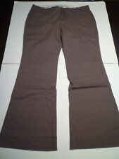NIP: OLD NAVY Low Rise Twill Pants, Dusty Brown, 12S
