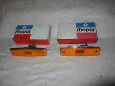 NOS Mopar 1970-71 Dodge Truck Front Side Marker Assemblies
