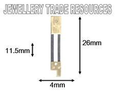 CLOCK SUSPENSION SPRING TOP QUALITY STEEL BRASS 26 x4mm