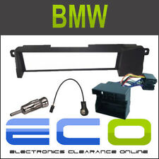 BMW 3 Series E46 1998-2005 Full Facia Fascia Panel Car Stereo Radio Fitting Kit