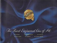 """Chrysler 1940 """"The Finest Engineered Cars of All"""" Sales Brochure"""