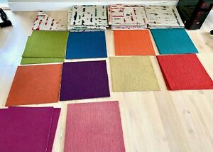 50 Used FLOR Lilting and Solid carpet tiles
