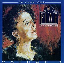 EDITH PIAF : 25e ANNIVERSAIRE VOL. 2 / CD - TOP-ZUSTAND