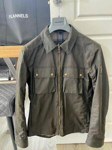 Belstaff Dunstall Overshirt Wax Jacket Size Small / Medium