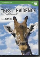 What Is the Best Evidence That God Created? DVD Carl Kerby NEW Sealed