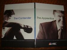 The APPRENTICE EMMY DVD + The CONTENDER 1Episode  Donald Trump Sugar Ray Leonard