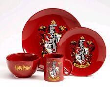 Harry Potter - Gryffindor 4 Piece Ceramic Dinner Set