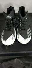 ADIDAS Mens Football-Soccer Cleats Black & White Size US8 CLU 600001