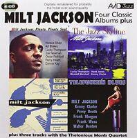 Milt Jackson - Four Classic Albums Plus (The Jazz Skyline / Milt [CD]
