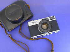 Canon Canonet - Vintage rangefinder film camera w/45mm f1.9 lens - AS IS