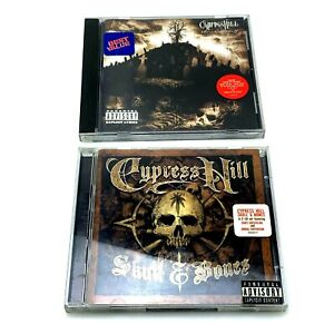 Lot of 2   Cypress Hill CDs   Skull & Bones, Black Sunday   Complete in Case