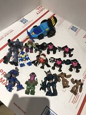 Micro Machine Z-Bots Mixed Lot Vehicle Figures + Other Mechs Robots Extra
