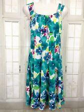 London Times Dress Women Size 12 Empire Waist A Line Sundress Flare Sleeveless
