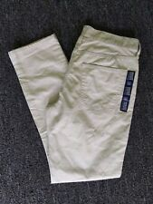 GAP SLIM FIT JEANS 31 X 30 NEW NWT STONE COLOR 5 POCKET SKINNY CUFF PANTS COTTON