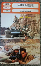 UK War Movie The Beast Kevin Reynolds Jason Patric French Film Trade Card