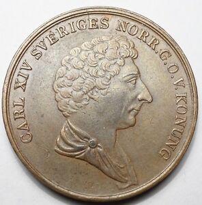 NAPOLEONIDES - SUEDE : RARE & BELLE 2 SKILLING 1842 DE BERNADOTTE