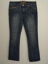 PEPE Jeans Blue Size 32 Stones Glitter Decoration London UK Cotton Blend