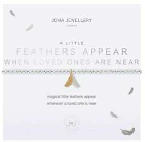 Joma Jewellery Bracelet- Feathers Appear When Loved Ones Are Near