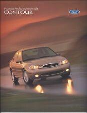 Original/Official 1998 Ford Contour Sales Brochure 98 News
