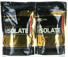 Optimum Nutrition Gold Standard 100% ISOLATE Whey Protein Choose Flavor (2 PACK)