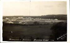 Bordon Camp 1914. Middlesex Brigade by Amphlett & Pickr....