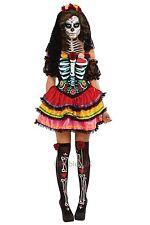 Day of The Dead Senorita Muerta Costume Womens Dia De Los Muertos Size Large
