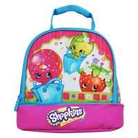 Shopkins Multi-Color Dual Compartment Lunch Bag  (KVSFCP#5L0918)(P)