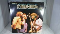 "BEE GEES ""Here At Last Bee Gees Live"" Record Sterling LP RSO RS-2-3901 VG+ cVG"