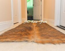 "36 x 58""  Rectangle Faux Fur Area Rug Grizzly Bearskin Designer Rug USA"