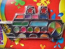 22 stile della nave Vernice Pot Set con SPAZZOLA Kids Art & Craft Pittura Set Per Bambini