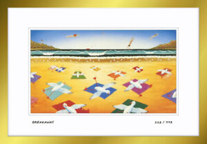 Heaven and Earth, ''Breakaway'' Limited Edition Numbered Framed Art Print