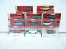 1/87 HO HERPA LOT OF 11x   MINI COOPER MODELS AS  NEW IN OVP RARE