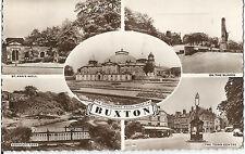 BUXTON; ST ANN'S WELL, SLOPES, ASHWOOD PARK, TOWN CENTRE; CARS;1962 VINTAGE-BL5*