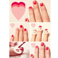 French Nail Tips Guides Nail Art Toes Creative Round Shape Manicure Image Tools