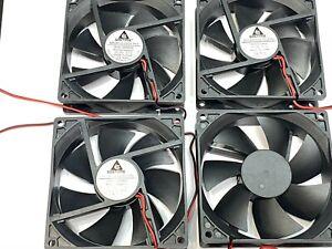 4 x Gdstime Fan Brushless Cooling Case dc 9225 24V 92mm x 25mm 2pin GDA9225 G11