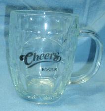 NWOT Boston CHEERS Bar Pub Dimpled Glass Barrel Beer Mug 20oz USA Luminarc Gift