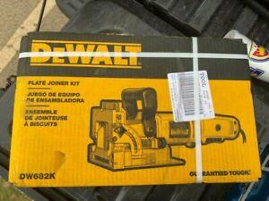 Brand New DeWALT DW682K Heavy-Duty Plate Joiner Kit 120V 6.5 Amps Corded SEALED