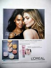 PUBLICITE-ADVERTISING :  L'OREAL Accord Parfait Highlight  2016 Bekhti,Lively