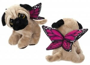 Butterfly Pug  Plush Toy 20 cm Pug