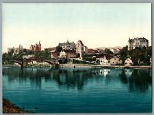 Saalfeld. PZ vintage photochromie, Deutschland photochromie, vintage photochro