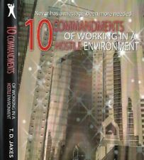 10 Commandments of Working In A Hostile Environment (2 Cds) T.D. Jakes GreatCond